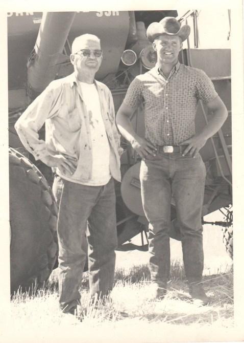 Dad and Grandpa Harold