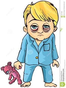 cartoon-sick-little-boy-19177831