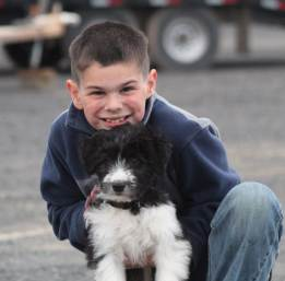 Kade and puppy April 2019-1