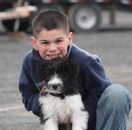 Kade and puppy April 2019-1