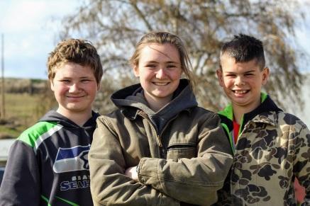 Kaine, Anna, and Kade March 2020